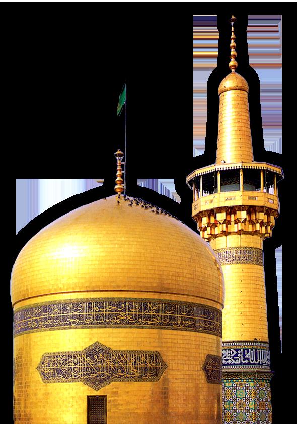 فایل لایه باز حرم امام رضا